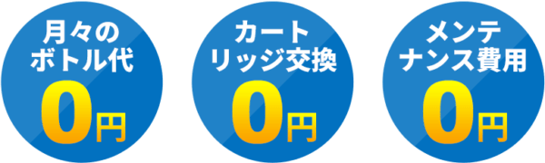 Aquabank アクアバンク コスト0円